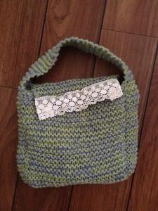 Väska med spets